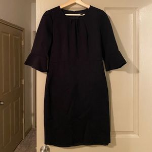 J. Crew Dresses - J.Crew peplum black dress